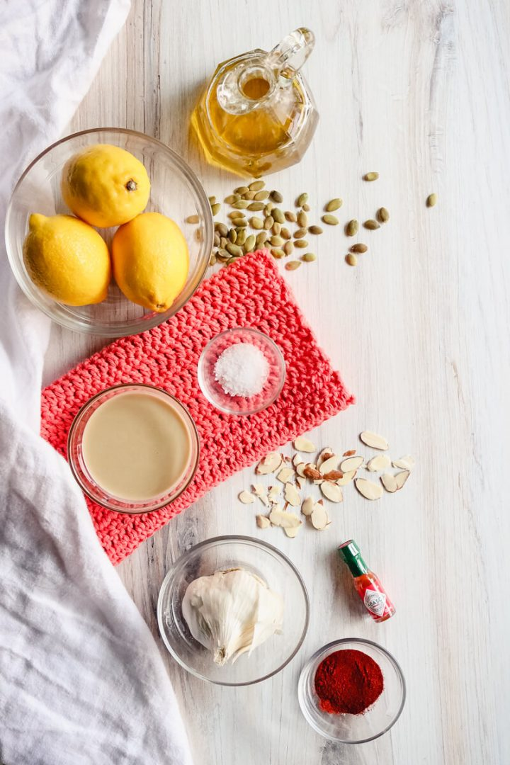 Keto tahini dressing ingredients