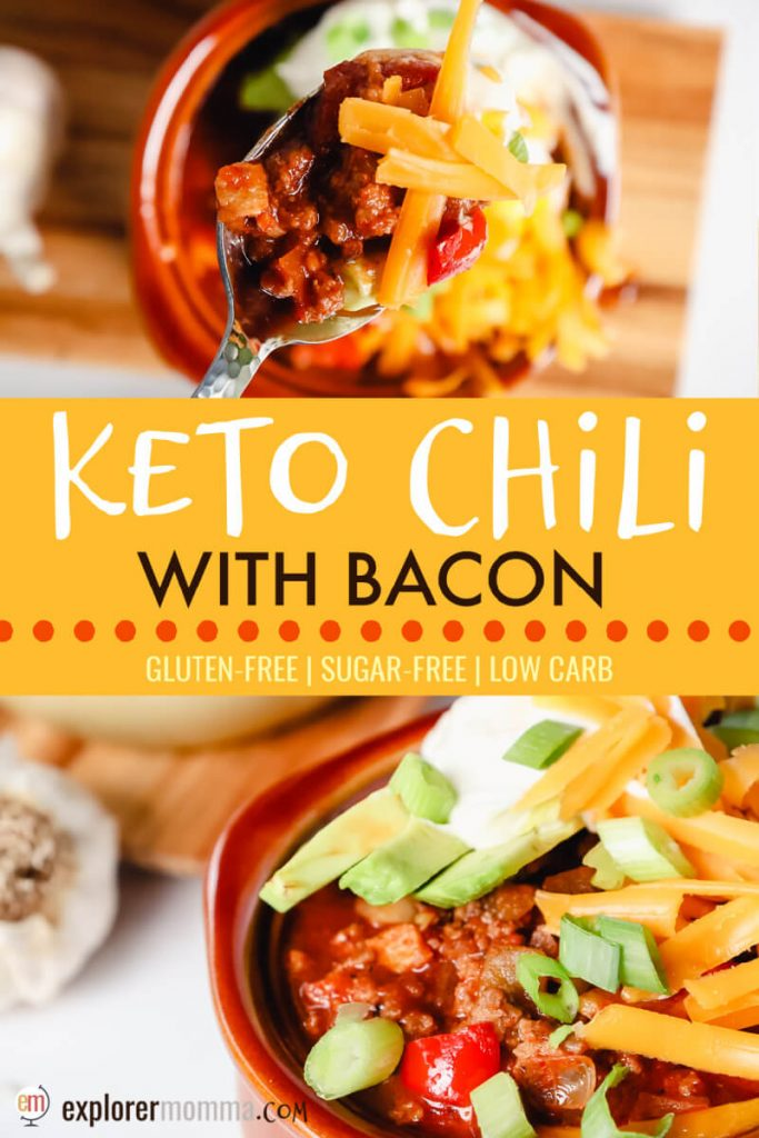 The Best Keto Chili With Bacon Explorer Momma