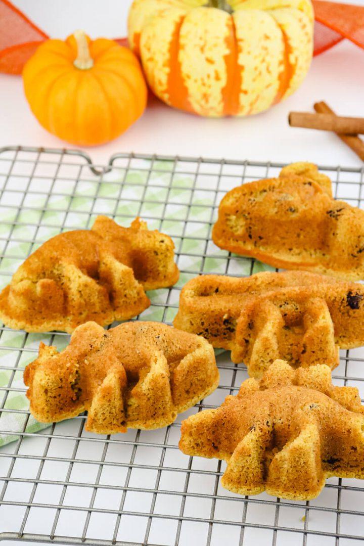 Keto dinosaur muffins