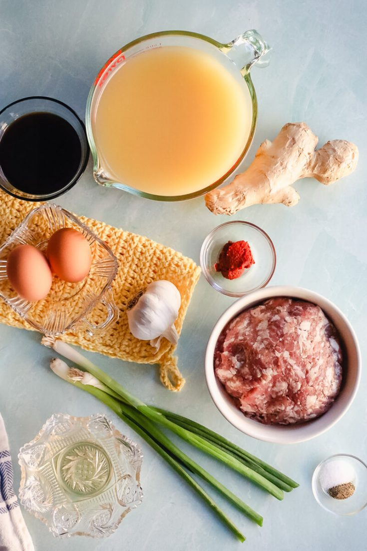 Ingredients in hot and sour soup keto