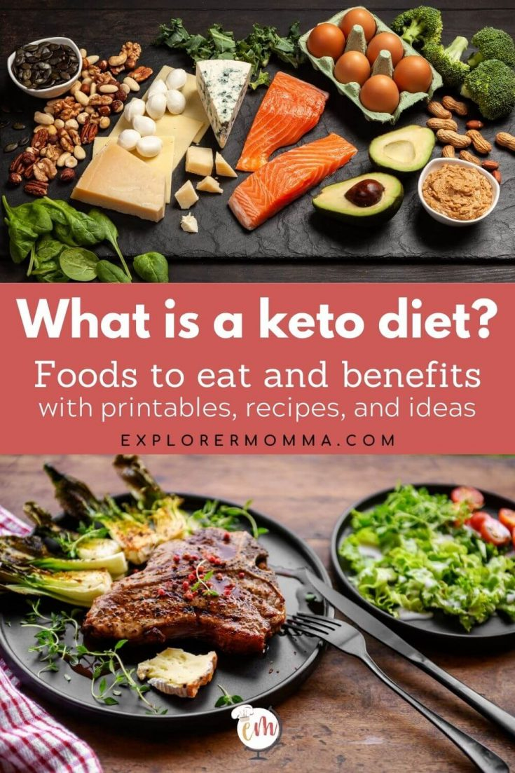 Foods found in a keto diet