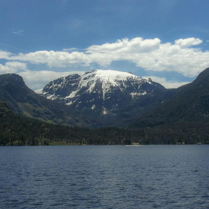 Mount Baldy over Grand Lake
