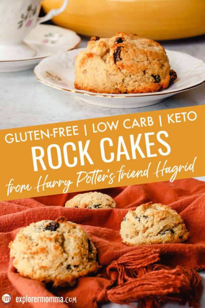 Keto rock cakes