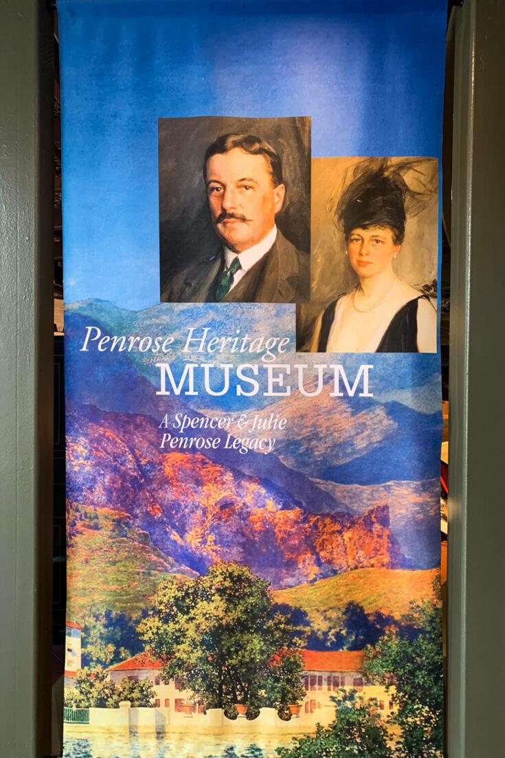 Penrose Heritage Museum display
