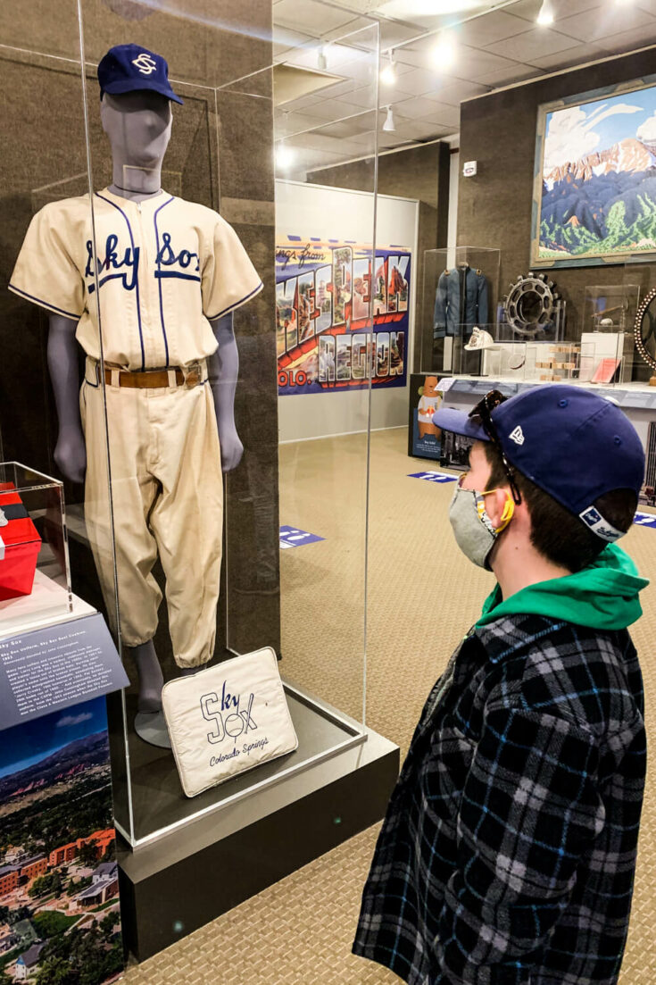 Baseball history at the Pioneers Museum
