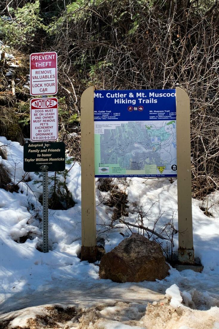 Mt Cutler sign