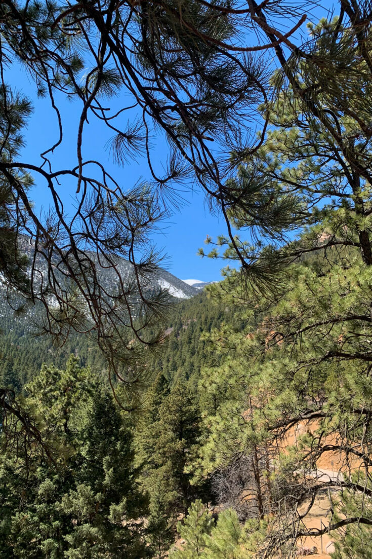 View from the Seven Bridges Trail