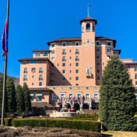 the Broadmoor Hotel front view