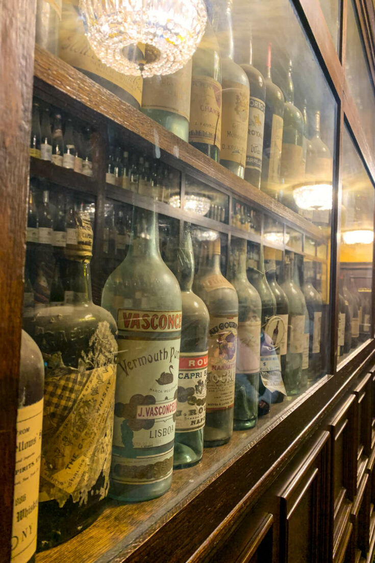 Bottles at the Broadmoor
