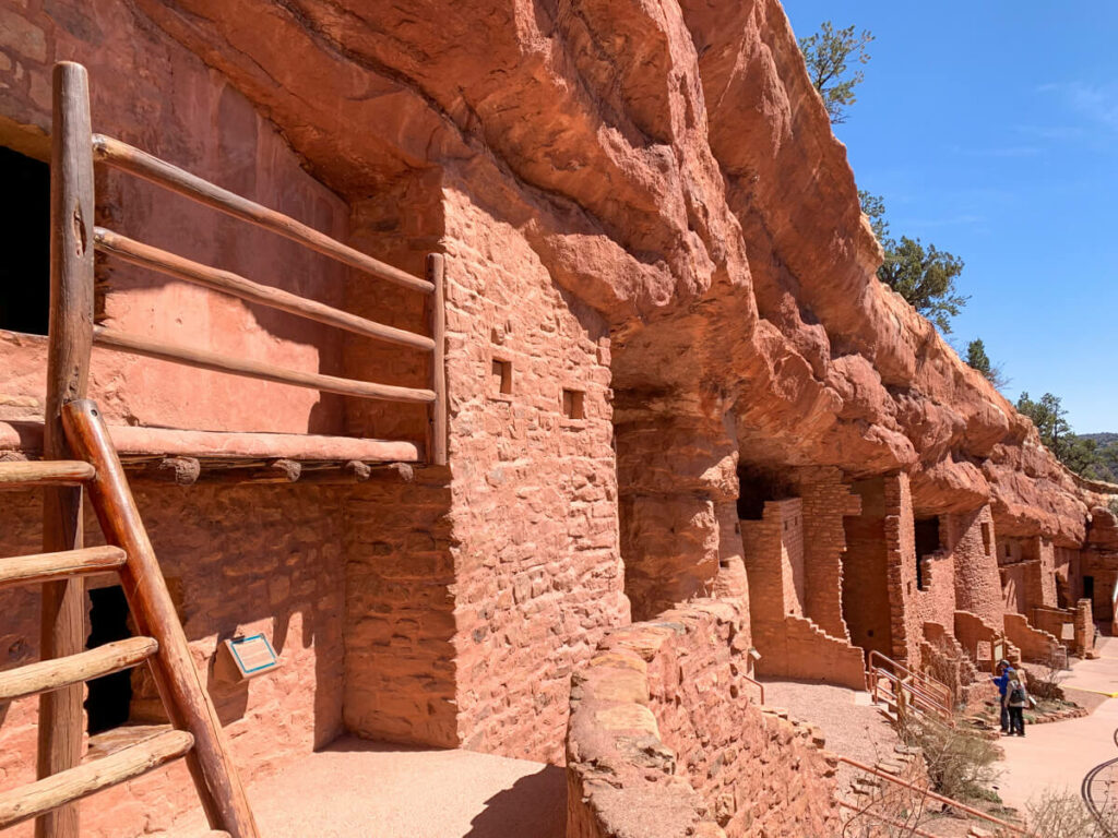 View of the Manitou Cliff Dwellings