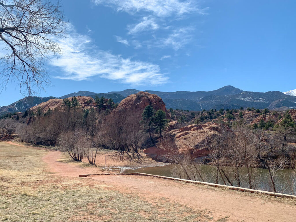 View of the Red Rock Canyon Open Space
