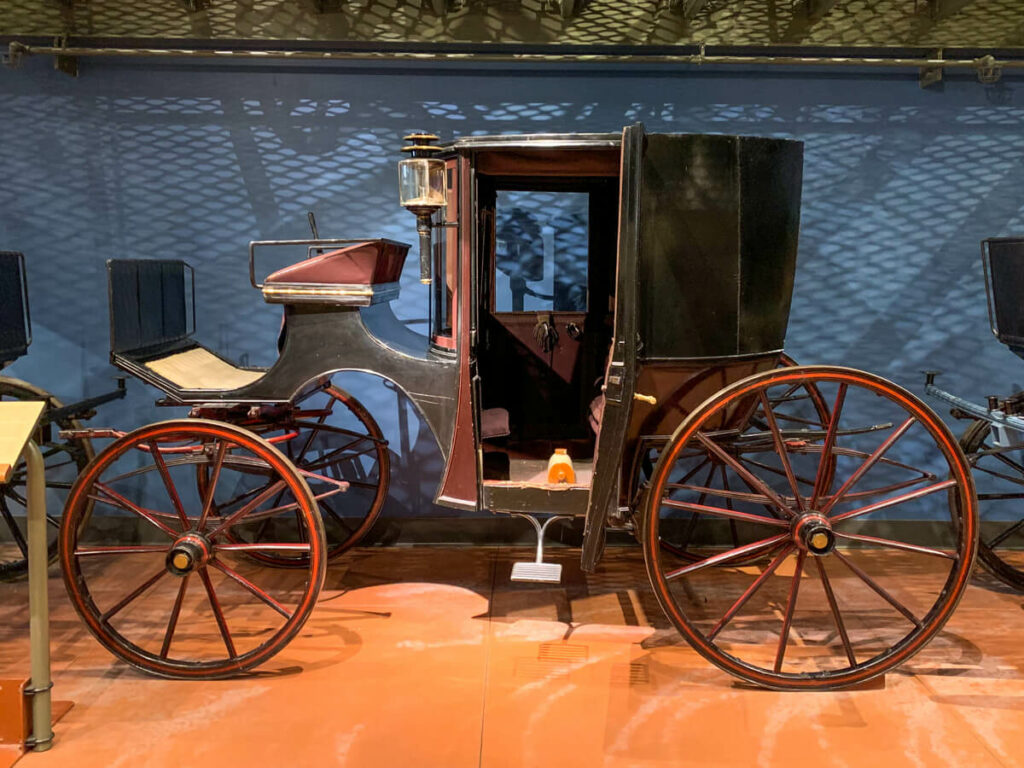 Carriage at the Penrose Heritage Museum