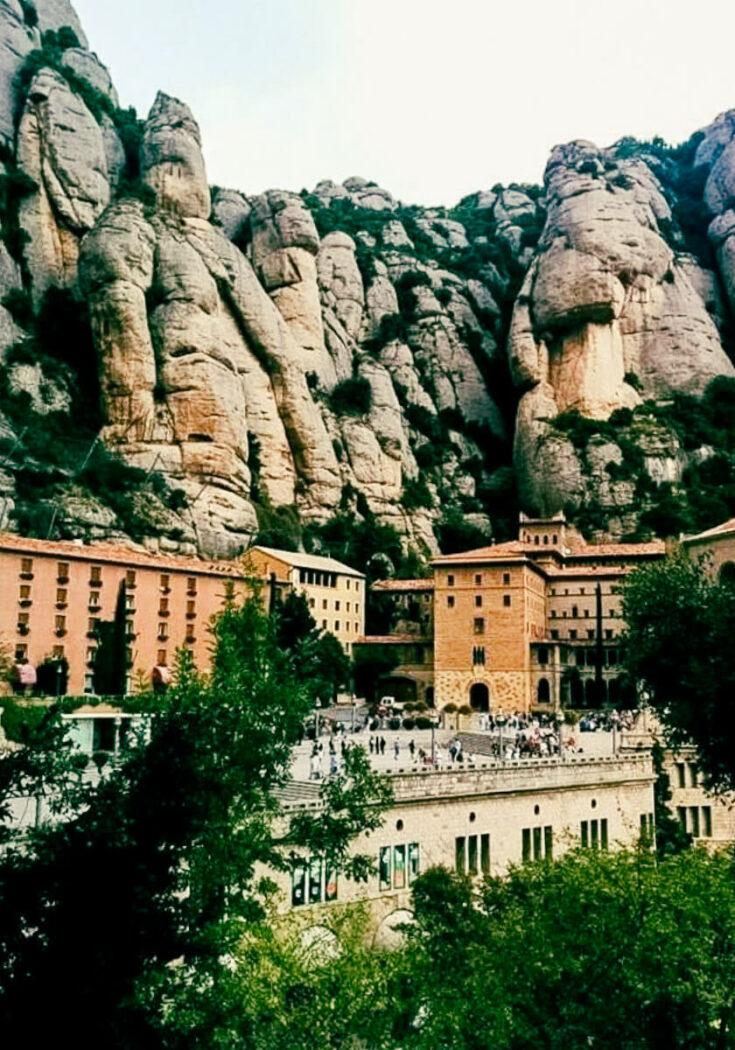 Montserrat cliff view
