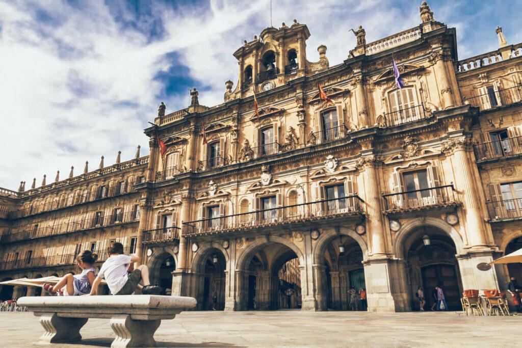 Salamanca, Spain Plaza Mayor