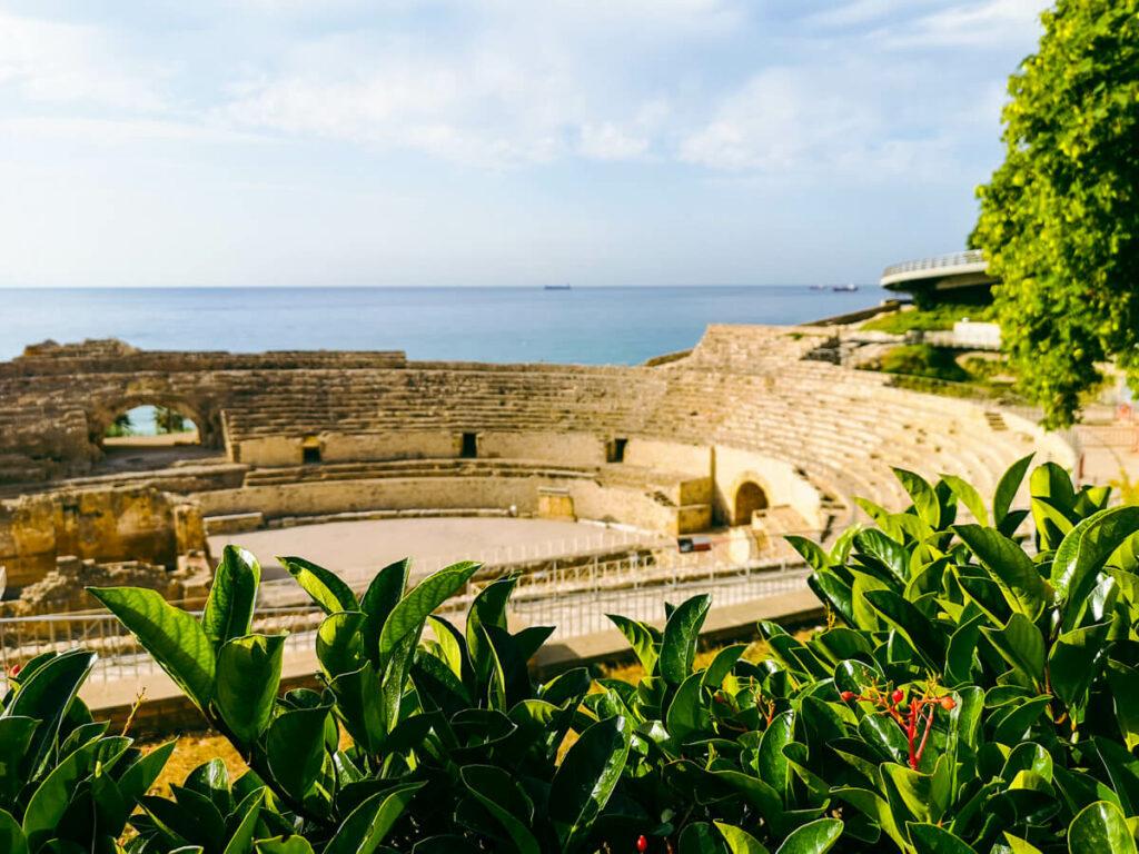 Amphitheater in Tarragona Spain