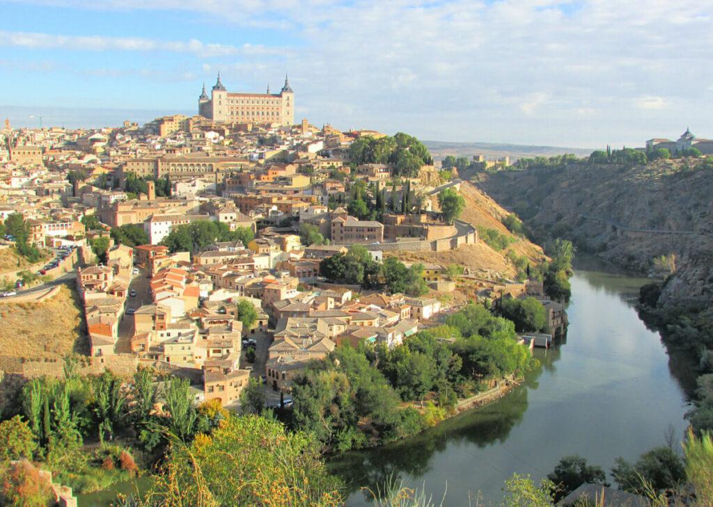 View over Toledo Spain