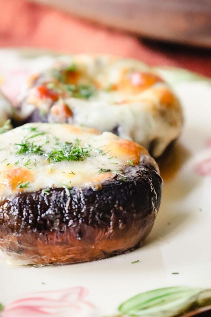 Keto Stuffed Mushrooms - Georgian recipes
