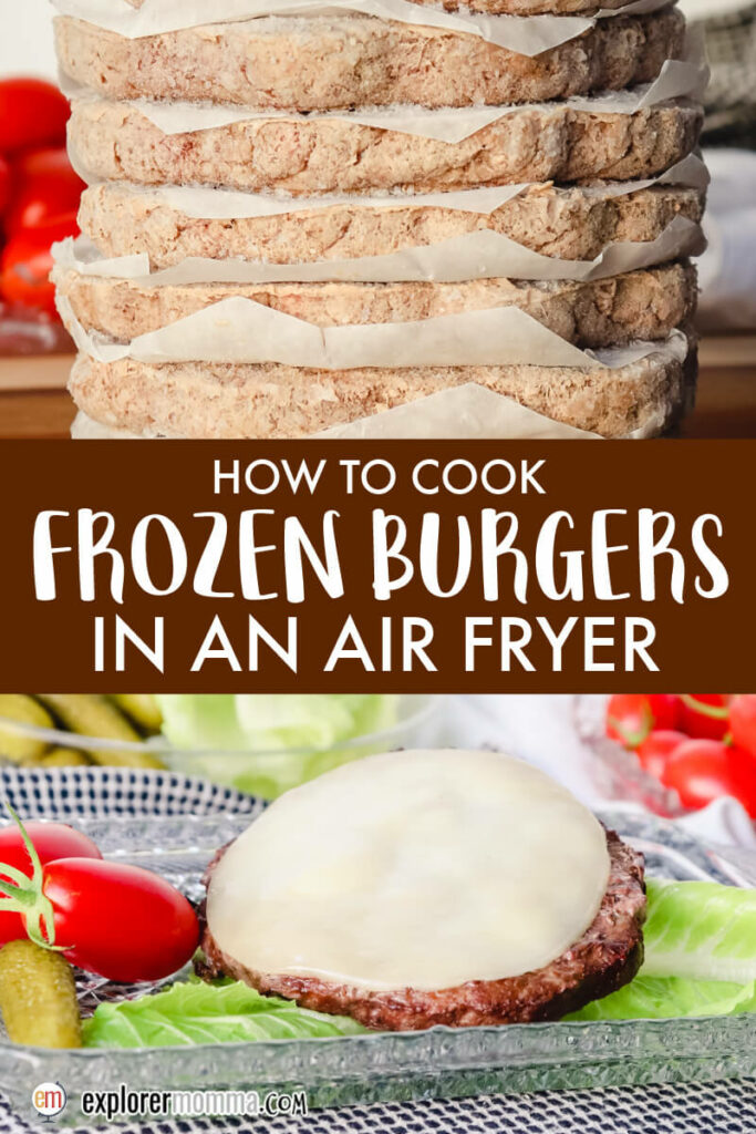 How to cook frozen burgers in an air fryer