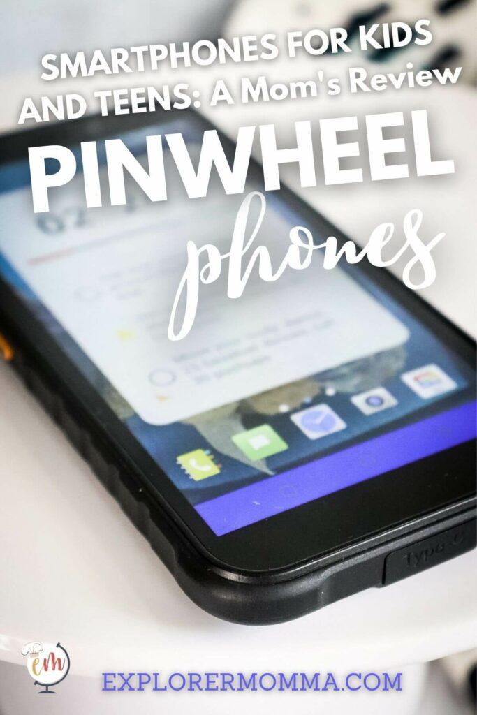Pinwheel Phone front side view