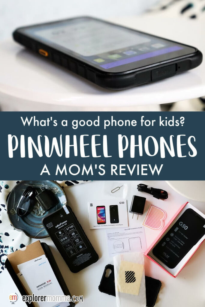 What's a good phone for kids? Pinwheel Phones, a mom's review